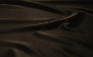 Texture brown satin, silk background