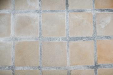 Tiled floor texture