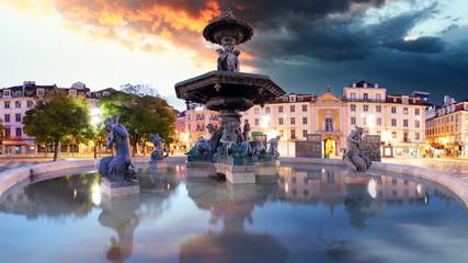 Lisboa - Rossio square, Portugal