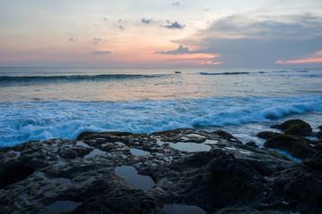 The Echo beach area in Canggu, Bali.
