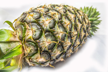abtract background of nature - texture of pineapple