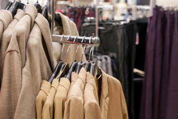 Fashionable clothes shop