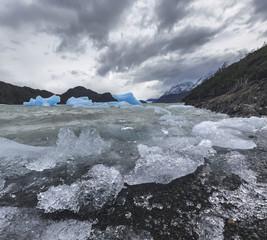 Lake Grey, Torres del Paine, Patagonia, Chile