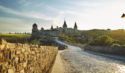 Kamieniec Podolski - one of the most famous and beautiful castles in Ukraine. Fototapete