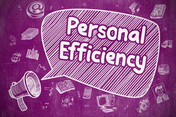 Personal Efficiency - Business Concept.