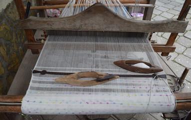 Loom. Weaving machine. Turkey