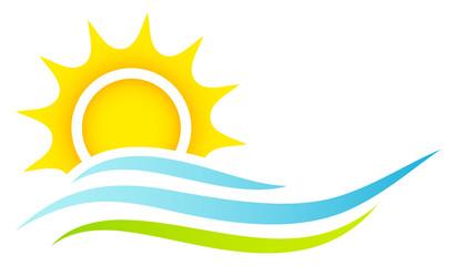 Sun, Waves & Landscape
