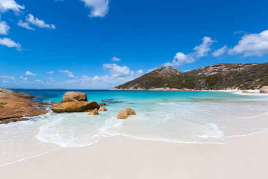 Little Beach at Two peoples Bay conservation reserve in Albany, Western Australia