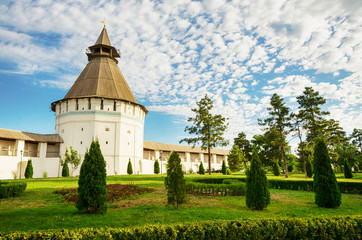 The territory of the Astrakhan Kremlin - the Red Tower