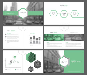 Set of infographic elements for presentation templates. Corporate Business Card. Modern brochure, layout. Flyer design.
