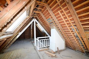 Dachausbau, Wärmeschutz, Dachkammer