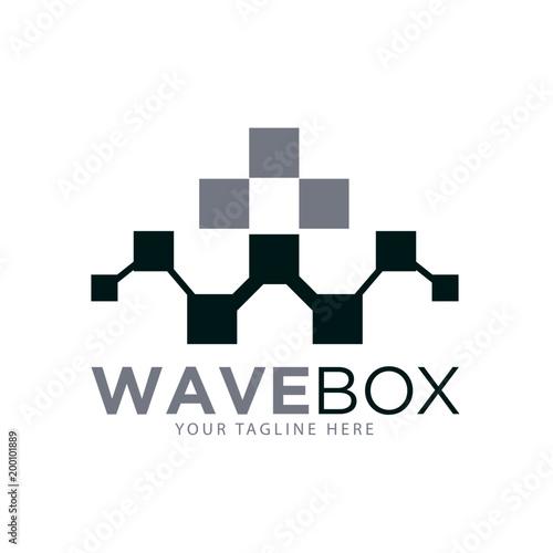 wave box real estate logo