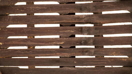 wooden lattice background,empty wooden box