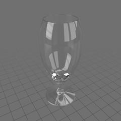 Empty stem glass 2