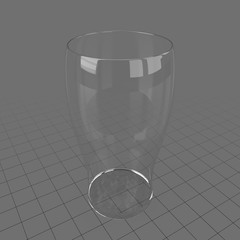 Large empty glass 2