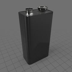 Transistor battery