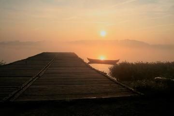Idylle am Hafen von Haithabu
