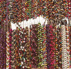 Colorful Beads As Background Texture