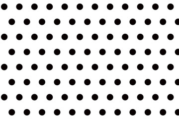 Black and white small polka dot background pattern