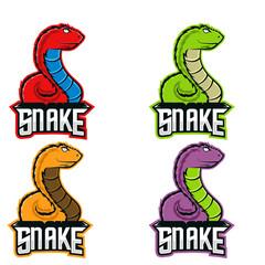 Snake Esport Mascot Logo design