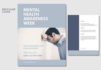 Mental Health Awareness Brochure Layout