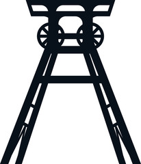 Colliery tower icon