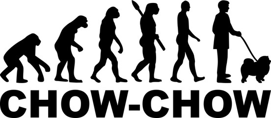 Chow-chow evolution word