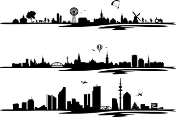 Skylines Städte
