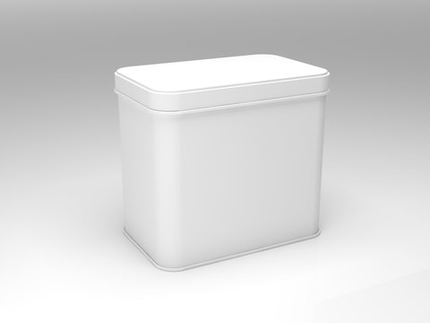 3d rendered container