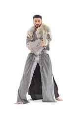 Man in oriental costume.