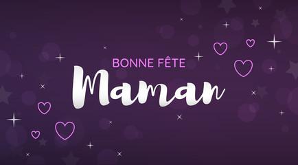 Bannière Bonne Fête Maman
