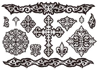 タトゥーデザインセット