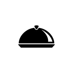 restaurant tray icon. Element of simple icon for websites, web design, mobile app, info graphics. Signs and symbols collection icon for design and development