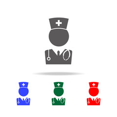 Medical Doctor icon. Elements of doctor multi colored icons. Premium quality graphic design icon. Simple icon for websites, web design, mobile app, info graphics