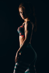 muscular female body