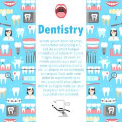 Dental clinic poster