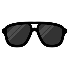 Cartoon Sunglasses Illustration