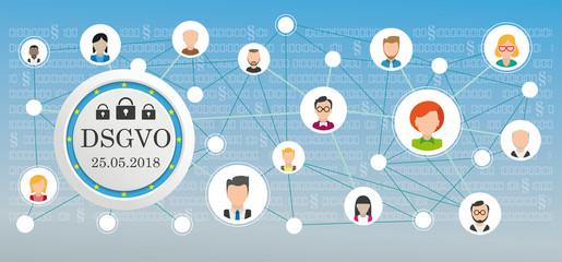DSGVO Kundendaten Netzwerk