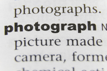 The Word Photograph Close Up