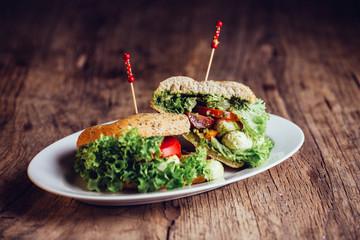 Sandwich Tomate Mozarella