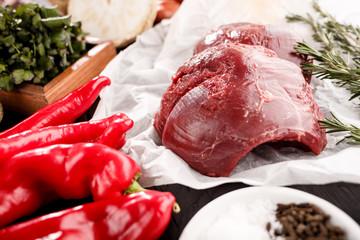 Fleisch mit Paprika No3