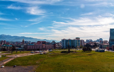 Fotomurales - View on Batumi city from the port. Georgia