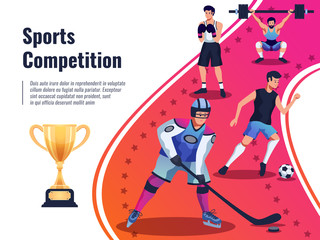 Sports Competition Background
