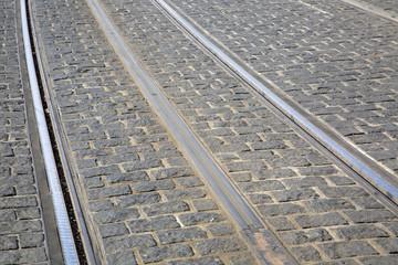 Tram Track; Bordeaux