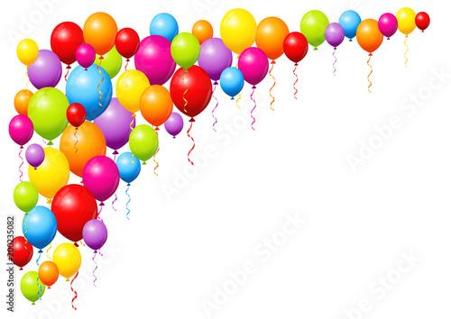 Birthday Balloons Stockfotos Und Lizenzfreie Vektoren Auf Fotolia