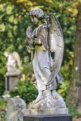 Auf dem Friedhof