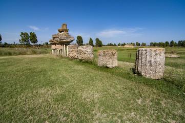 MKetaponto archaeological area in Basilicata Italy