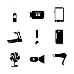 icon Electronic with movie, cool, elecronic, athletic and modern