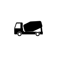 concrete mixer icon. Element of car type icon. Premium quality graphic design icon. Signs and symbols collection icon for websites, web design, mobile app