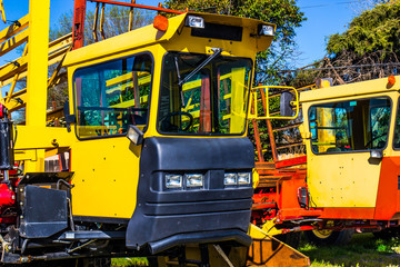 Cabs On Heavy Duty Construction Equipment